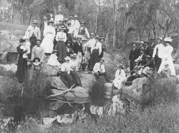 Picnic at Manyutup Creek