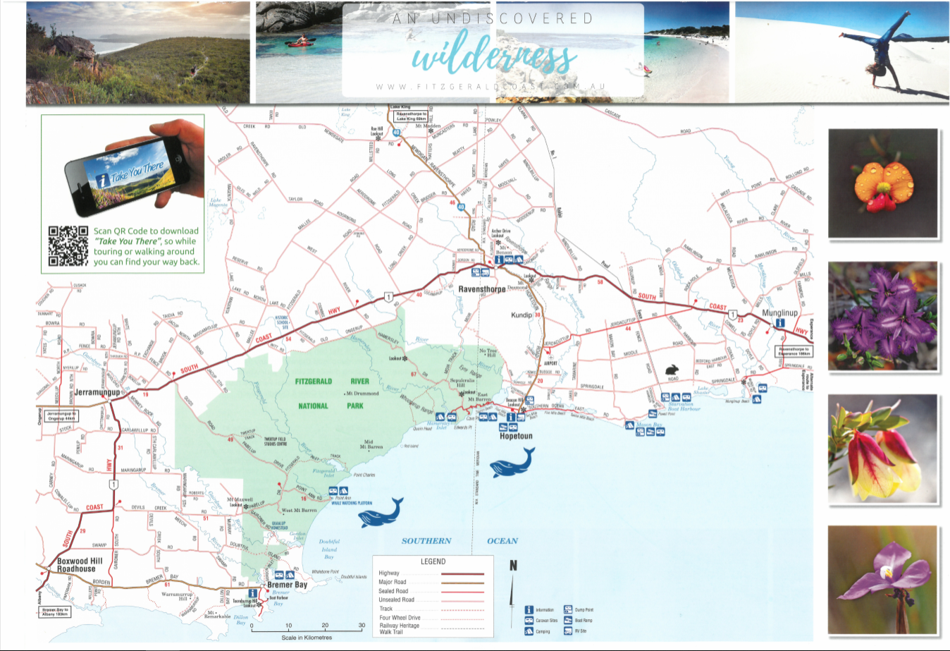 Fitzgerald Coast A3 Map