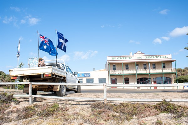 Australia Day 2021 - Australian Ute and Pub