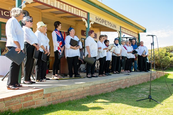 Australia Day 2021 - Qualup Choir