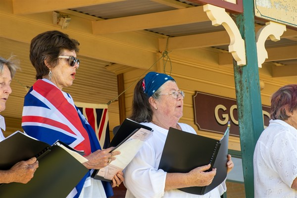 Australia Day 2021 - Qualup Choir Members
