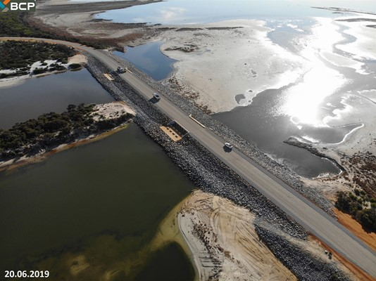 Culham Inlet Progress - 17 2062019