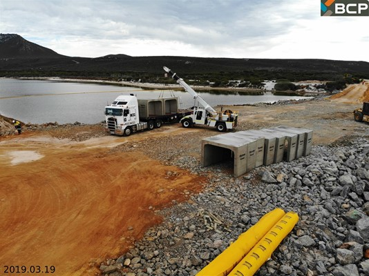 Culham Inlet Progress - DJI_0187