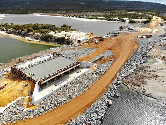 Culham Inlet Progress - DJI_0382