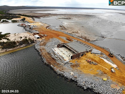 Culham Inlet Progress - DJI_0387