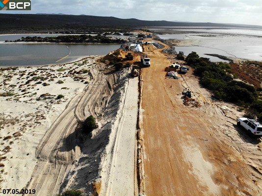 Culham Inlet Progress - DJI_0389