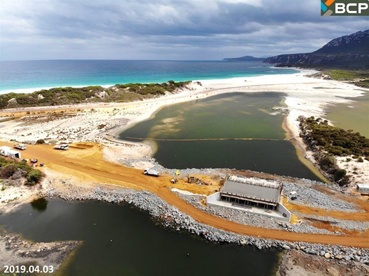Culham Inlet Progress - DJI_0391
