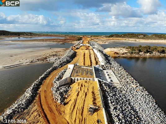 Culham Inlet Progress - DJI_0435